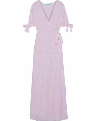Текстильное платье макси с манжетами Melissa Odabash