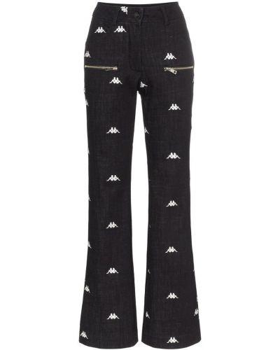 Прямые черные джинсы с карманами Charm`s