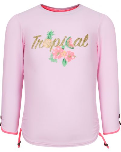 Розовая футболка Sunuva