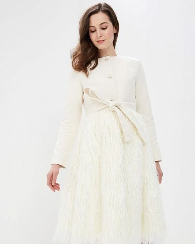 Пальто - белое Gepur