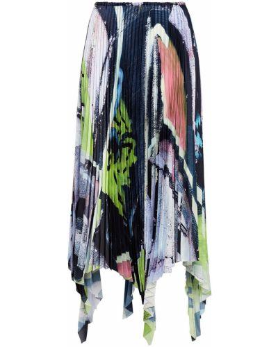 Spódnica plisowana - liliowa Marques Almeida