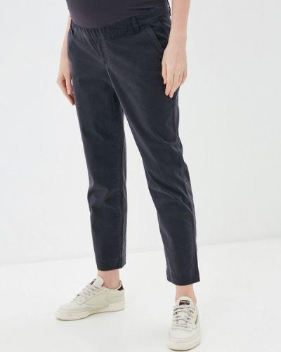 Зауженные серые брюки для беременных Gap Maternity