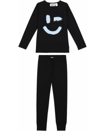 Хлопковая пижама - черная Molo