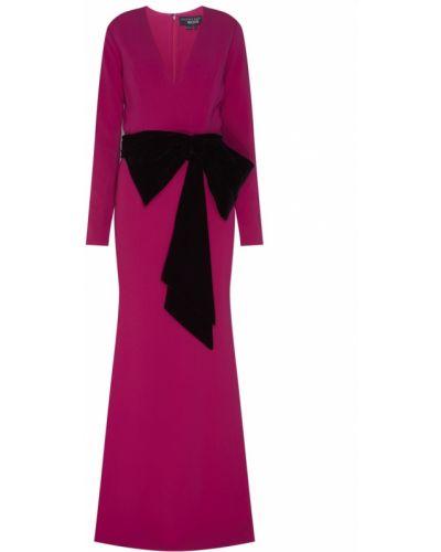 Вечернее платье с V-образным вырезом с поясом Sachin & Babi