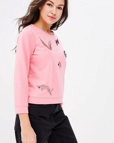 Розовый свитшот Naf Naf