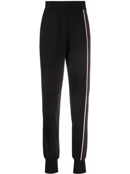 Спортивные черные спортивные брюки с поясом с манжетами No Ka 'oi
