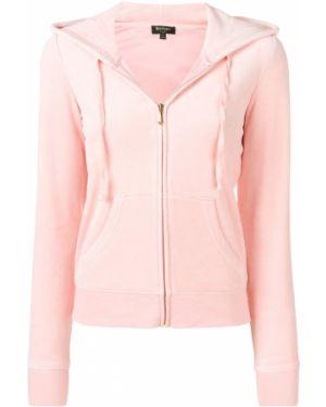 Топ облегающий розовый Juicy Couture