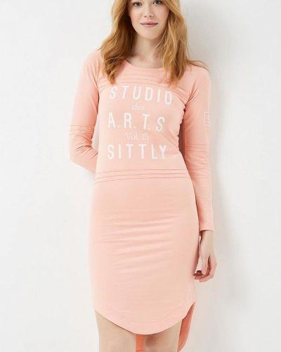 Платье весеннее красный Sitlly