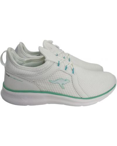 Текстильные кроссовки - белые Kangaroos