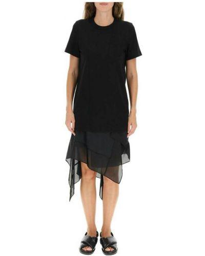 Czarna sukienka Sacai