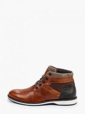 Коричневые высокие ботинки Beppi