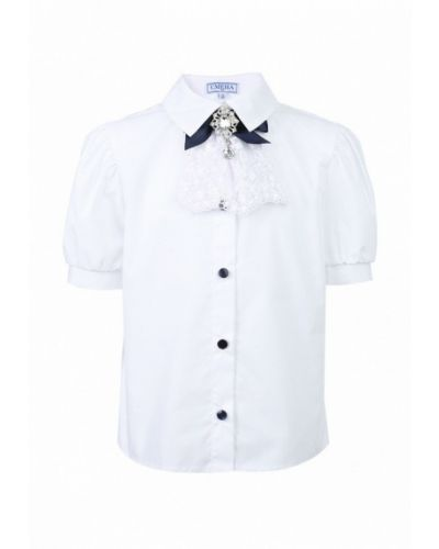 Белая блуза смена