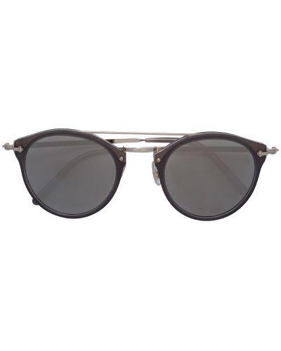 Коричневые солнцезащитные очки Oliver Peoples