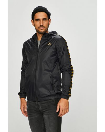 Утепленная куртка с капюшоном прямая Kappa