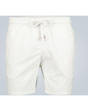 Шорты с карманами - белые Vilebrequin