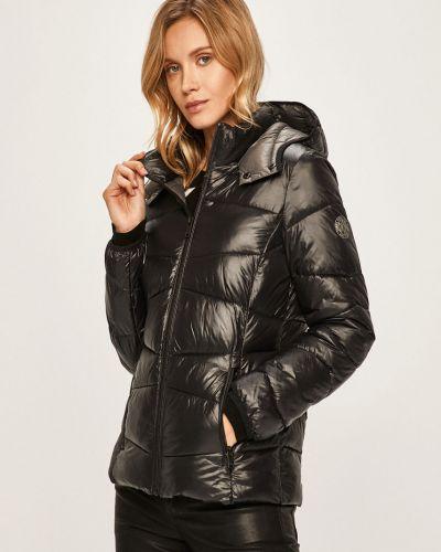 Прямая нейлоновая черная куртка Dkny
