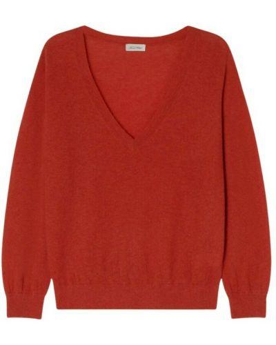 Sweter vintage - czerwony American Vintage