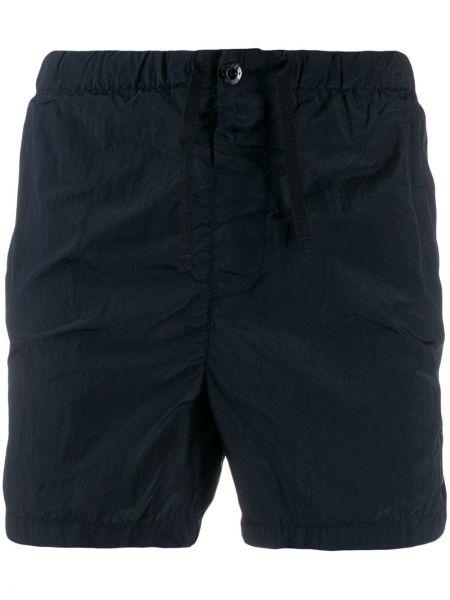 Короткие шорты темно-синий синий Stone Island