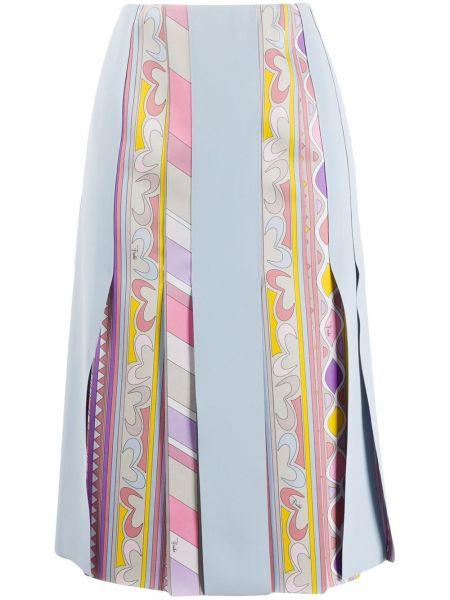 Юбка со вставками на молнии Emilio Pucci