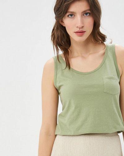 Майка зеленый хаки United Colors Of Benetton