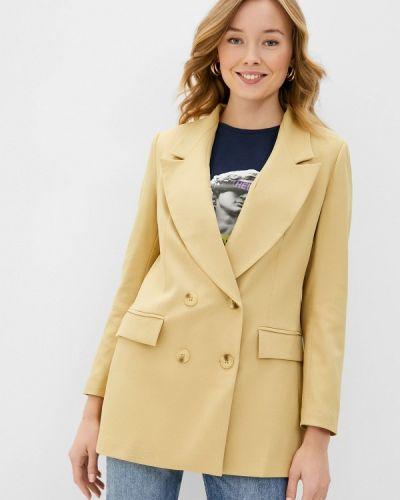 Желтый пиджак Trendyol