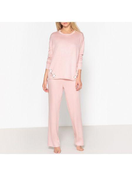 Пижама с длинными рукавами пижамный La Redoute Collections