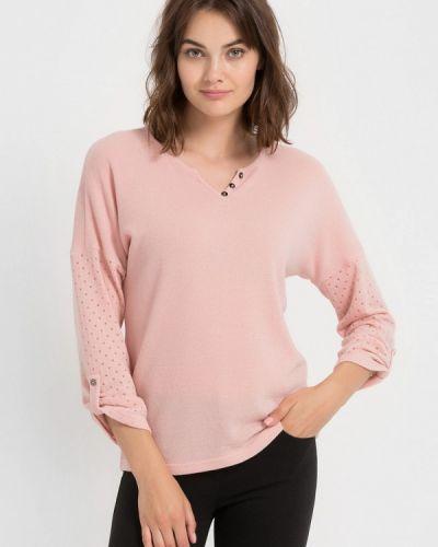 Розовый пуловер Remix