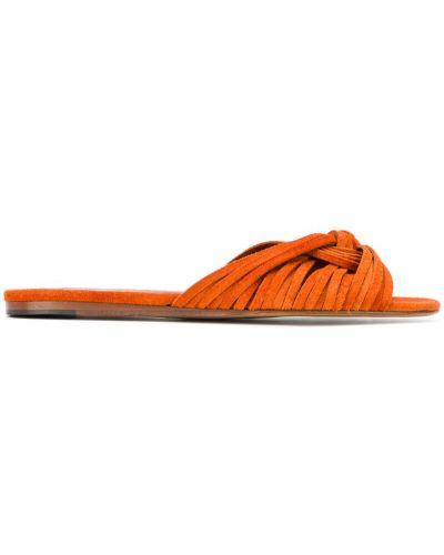Босоножки с завязками на каблуке Michel Vivien