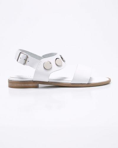 Белые сандалии кожаный Chebello