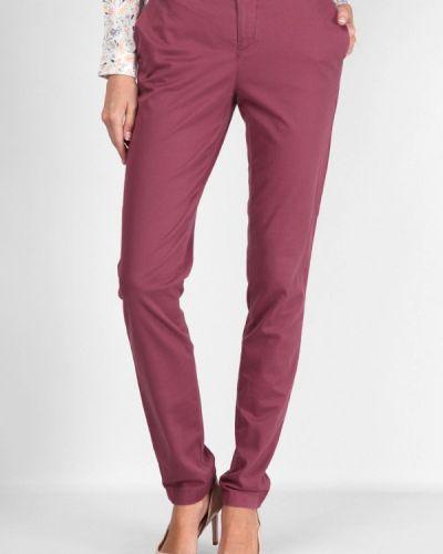 Классические брюки розовый весенний Lagrand