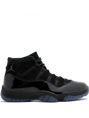 Высокие кроссовки черные винтажные Jordan