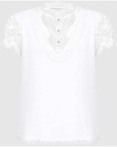 Футбольная белая футболка Ermanno Scervino