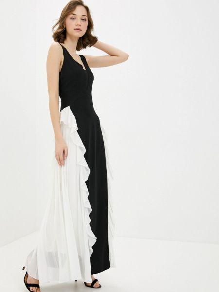 Вечернее платье черное весеннее Rinascimento