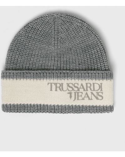 Джинсы с подворотами mom Trussardi Jeans