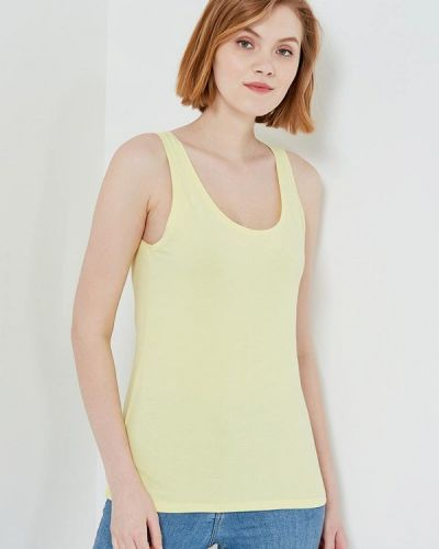 Желтая майка United Colors Of Benetton