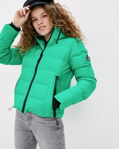 Зеленая утепленная куртка Superdry
