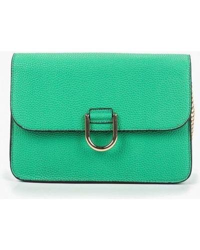 Кожаный сумка через плечо зеленый Dorothy Perkins