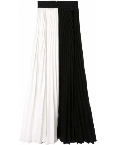 Черная расклешенная ажурная юбка макси Dalood