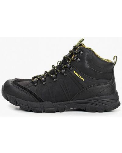 Черные треккинговые ботинки Patrol