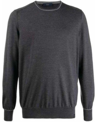 Szary sweter Fay