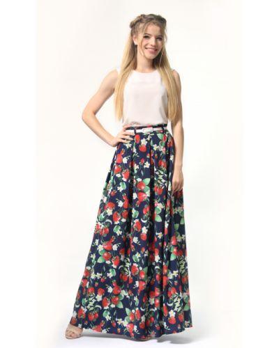 Хлопковая юбка макси Lila Kass