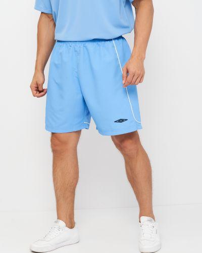Голубые шорты английские Umbro