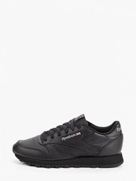 Кроссовки черные низкие Reebok Classics