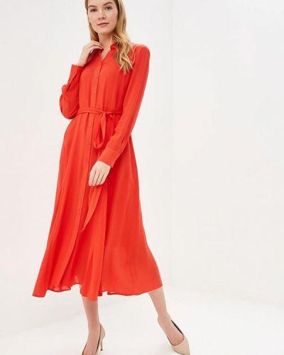 Повседневное платье красный Marks & Spencer
