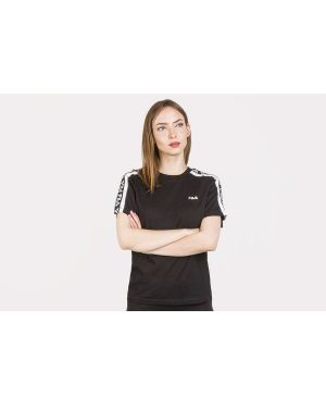 T-shirt bawełniana - czarna Fila