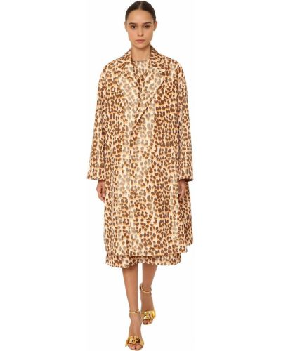 Куртка леопардовая с подкладкой Rochas