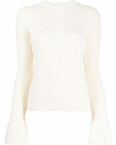 Джемпер с вышивкой - белый Sonia Rykiel