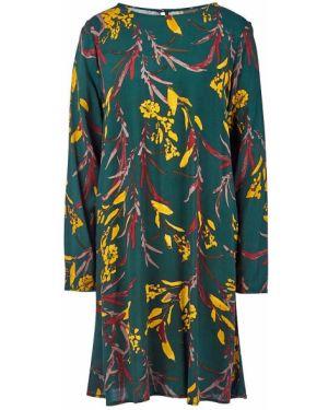 Платье из вискозы расклешенное Ichi