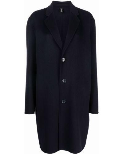 Синее пальто с V-образным вырезом PaltÒ