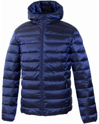 Куртка с капюшоном - синяя Huppa